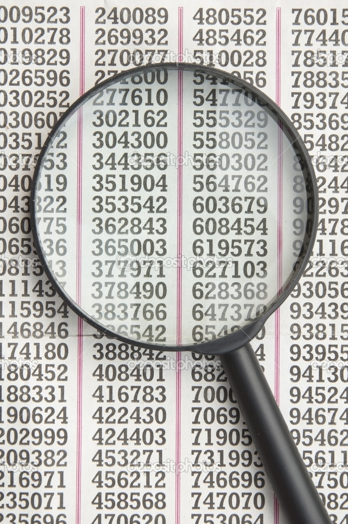 Finding number as magnify — Stock Photo #11022198