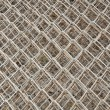 Stock Photo: Steel net background
