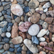 Color circle stone background - 图库照片