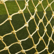 Soccer net background — Stock Photo