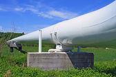 The high pressure pipeline — Stock Photo