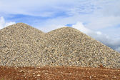 Heaps of granite elimination — Stock Photo
