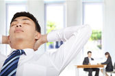 Relax businessman in the office — Foto Stock