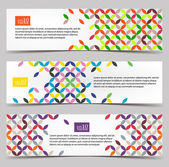 Banners de web — Vector de stock