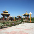 Near Buddhist Temple in Elista, Republic Kalmykia, Russian Federation — Stock Photo #10890974