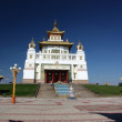 Buddhist Temple in Elista, Republic Kalmykia, Russian Federation — Stock Photo
