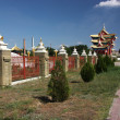 Near Buddhist Temple in Elista, Republic Kalmykia, Russian Federation — Stock Photo