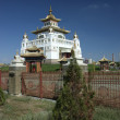 Buddhist Temple in Elista, Republic Kalmykia, Russian Federation — Stock Photo #10892047