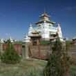 图库照片: Buddhist Temple in Elista, Republic Kalmykia, RussiFederation