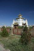 Buddhist Temple in Elista, Republic Kalmykia, Russian Federation — Stock Photo