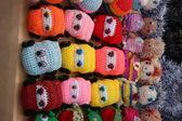 Giocattoli lavorati a maglia — Foto Stock