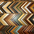 Samples of wooden frames — Stock Photo