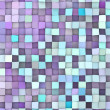 Abstract 3d render backdrop in different shades of purple blue — Stock Photo
