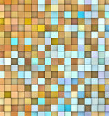 Abstract 3d cubes backdrop in orange yellow and blue — Stock Photo