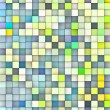 Abstract 3d cubes backdrop in green and blue — Stock Photo