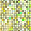 图库照片: Abstract 3d cubes backdrop in yellow and green