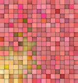 Abstract 3d cubes backdrop in orange and red — Stock Photo