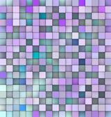 3d bakgrund i olika nyanser blå lila — Stockfoto