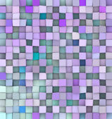 3d backdrop in different shades blue purple — Stock Photo