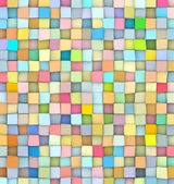 Abstract tile pattern mixed color surface backdrop — Stock Photo
