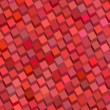 Abstract red pink cube pattern backdrop - Stock Photo