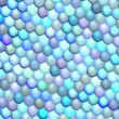 3d fish scale blue purple abstract pattern surface — Stock Photo