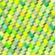 Abstract cubical multiple green yellow pattern backdrop — Stock Photo