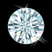 Diamond jewel, vector illustration — Stock Vector