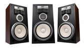 Three speakers — Stock Photo