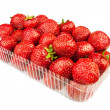 Strawberry in a basket — Photo