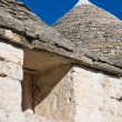 Alberobello's Trulli. Puglia. Italy. — Stock Photo