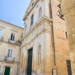 Church of St. Anna. Lecce. Puglia. Italy. - Stockfoto