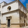 Church of St. Elisabetta. Lecce. Puglia. Italy. - Stockfoto