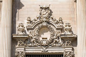 Kyrkan av st chiara. lecce. puglia. italien. — Stockfoto