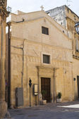 Church of St. Sebastiano. Lecce. Puglia. Italy. — Stock Photo