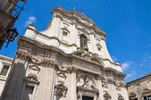 Church of St. Irene. Lecce. Puglia. Italy. — Stock Photo
