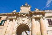 St. Biagio Gate. Lecce. Puglia. Italy. — Stock Photo