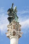 St. Oronzo Column. Lecce. Puglia. Italy. — Stock Photo