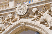 Sedile palace. Lecce. Puglia. Italy. — Stock Photo