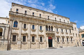 Seminary palace. Lecce. Puglia. Italy. — Stock Photo