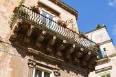 Rossi palace. Lecce. Puglia. Italy. — Stock Photo