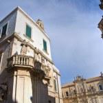 Duomo Square. Lecce. Puglia. Italy. — Stock Photo #10858330