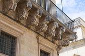 Donadeo - tafuri 宮殿。レッチェ。プーリア州。イタリア. — ストック写真