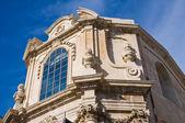 教会は、キリスト降誕、聖母マリアの。レッチェ。プーリア州。イタリア. — ストック写真