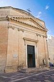 Church of St. Maria alla Porta. Lecce. Puglia. Italy. — Stock Photo