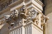 Katedra w lecce. puglia. włochy. — Zdjęcie stockowe