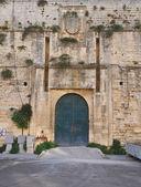 Castillo de charles v. lecce. puglia. italia. — Foto de Stock