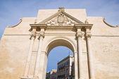 Neapolitan Gate. Lecce. Puglia. Italy. — Stock Photo