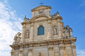 Church of Alcantarine. Lecce. Puglia. Italy. — Stock Photo