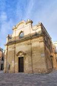 Greek Church. Lecce. Puglia. Italy. — 图库照片